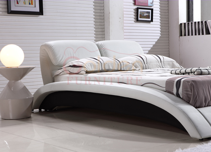 Moderne nouvelle cr ations queen taille japon massage lit avec r glable t te - Taille lit queen size ...