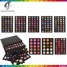 Wholesale eyeshadow palette accept private logo 8 layers eyeshadow case