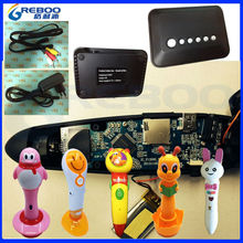 Innovative TV kids talking pen , Bluetooth reading pen , bluetooth digital pen with Audio books Classroom educational set