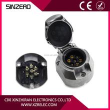 trailer socket Alu XZRM3000/7-pin 12V easy plug for trailer