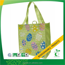High quality and large green shopping Grocery non woven Bags
