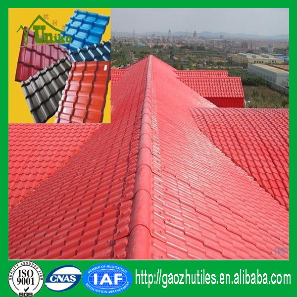 Low cost roofing composite fire proof materials asa resin for Low cost roofing materials