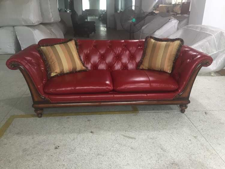 Wood Frame Chesterfield Sofa Buy Classic Wood Frame Leather Sofa,Singapore Living Room