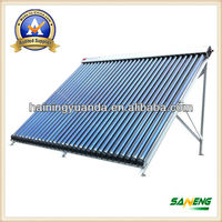 2015 New Heat Pipe Solar Collector for Eurepean Market