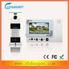 China factory devise new interesting indoor monitor unit intercom kits
