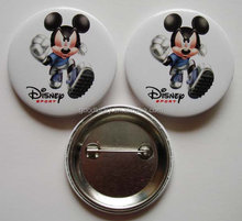 souvenirs tin button badge / button badge / pin button badge from China wholesale