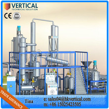 VTS-DP Used Lubrication Oil Purification System Mobile Oil Purification Plant
