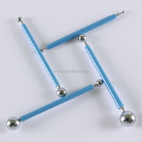High quality stainless steel 4 pens Piping rods/Cake for flowers/Metal cake tools