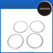 Flexible Car Chrome Trim, Chrome Door Panel Speaker Surround Trim - for Mazda Mazda 3 / Axela 03-08