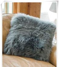 long wool back cushion and rug, 100% genuine lambskin fur , quality guaranteed