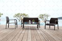 2015 Luxury China woven rattan furniture