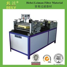 LM filter paper pleating machine/ pleating various qualities of filter paper