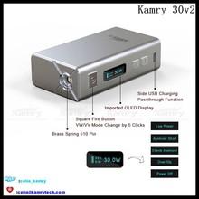 30watt vaporizer e cigarette kit kamry 30 v2, kamry 30 vape 30watt mod kamry 30 v2