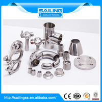 Female threaded adapter hdpe pipe fitting saddle clamp and butt welded pipe fittings