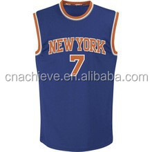 China manufacture customize reversible basketball tops/uniform for team