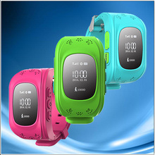 High Accuracy Child Personal GPS Tracker GPS Watch with SOS Button newest wifi geo tech gps watch
