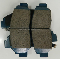hot sale 04465-36020 for toyota abe top quality brake pad production process