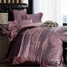 Chinese king size silk quilt cover set, fashion duvet cover , 4 pcs