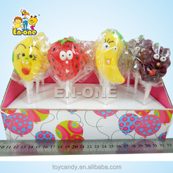 35g funny fruit lollipop