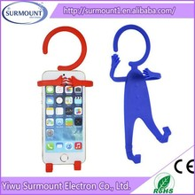 Factory Price Human Shape Silicone Mobile Phone Holder for Smartphone