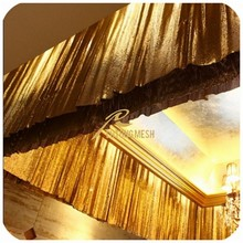 Wholesale cheap Metal sequin curtain decorative restaurant from manufacturer