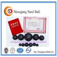 Medium chrome cast iron ball casting parts