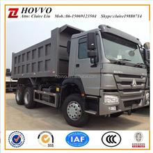 sinotruk howo 6x4 371hp 21-30ton load dump truck china tipper trucks for sale in Nigeria
