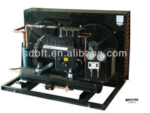 special-customized Copeland semi-hermetic compressor refrigeration condensing unit for American market