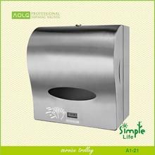 Stainless steel wipe paper dispenser,sensor hand tissue dispenser,toilet paper holder