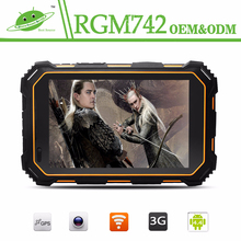 IP67 Waterproof 7inch MTK8382 NFC Rugged Android Tablet