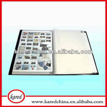 2013 hot sale PP leather for A4 hard cover file folder