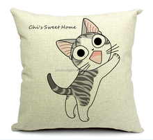 2015 Chinese factories wholesale supply hot sale fashion comfortable warmth funny 100% cotton Cartoon Children Pillow Cushion