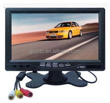 7 inch LCD tv monitor 1024*600 resolution VGA /av /bnc