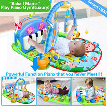 Hot item baby play gym, baby folding play mat for sale AZO EN71 6P ROHS HX9105