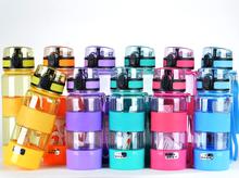 transparent 500ml leak proof drink bottle, high quality sport water bottle carrier for kids