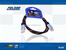 High Quality Metal Shell HDMI to HDMI cable with Nylon Braid Mesh 1m 1.5m 1.8m 2m 3m 5m 7m 10m