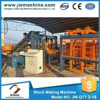 QT3 curb stone block making machine,good price block paving machines, machine de fabrication de parpaing