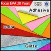 ethylene vinyl acetate sheet/ color glitter adhesive eva foam price