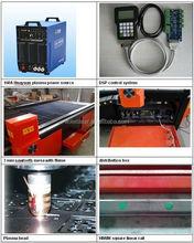 AOL1325 1300*2500mm 100A High quality cnc plasma cutting machine HIWIN square orbit