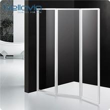 folding plastic shower screen door 6593