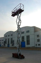 Electric Mobile hydraulic scissor lift/lifting table/lifting equipment