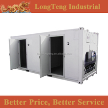 Stainless steel 20ft 40ft dual function reefer container