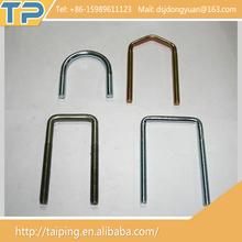 Hot china products wholesale Custom Grade 12.9 Coated Zine Stainless Steel standard U Bolt
