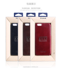 Original X-Level Leather Series Genuine Leather Back Cover Case For Iphone 6 Plus 5.5 MT-3783