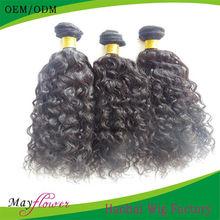 Brazilian loose curls double sewn hair extensions 3bundles/lot l oose curl hair