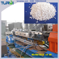 TSSK parallel twin screw PE Calcium carbonate masterbatch granulator