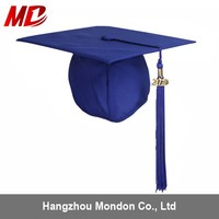 Wholesale Children Royal Blue pictures of graduation caps Matte