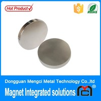 Professional rare earth neodymium magnets sale single pole shaped magnet