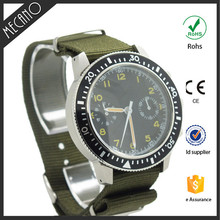 High quality mechanical waterproof wristwatch China manufacturer automatic chronograph watches for men