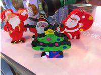 Cheap Customized Logo Cute santa Claus PVC Plastic USB 8GB
